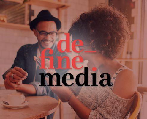 DefineMedia Unternehmenswebseite