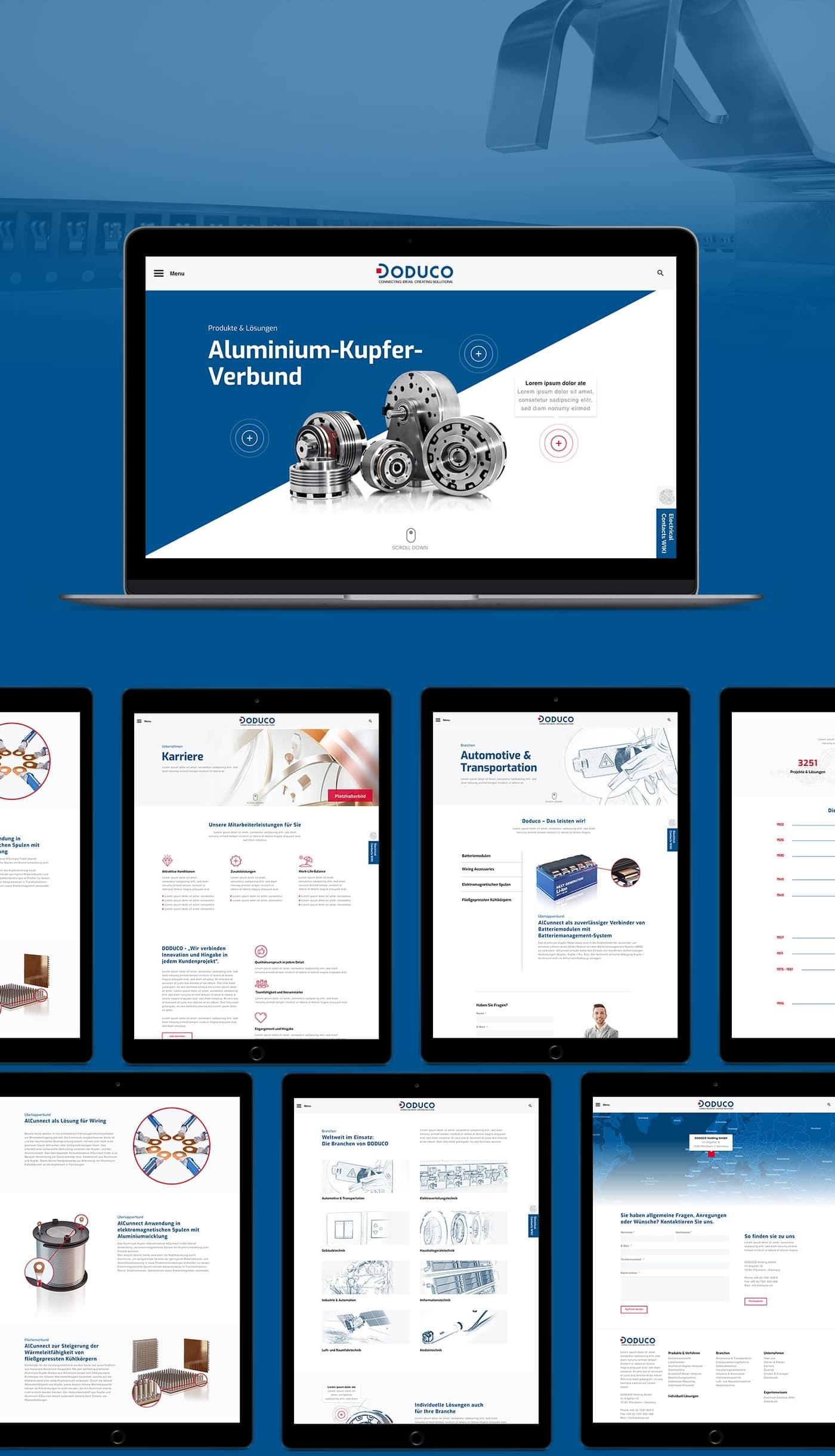 responsive doduco - Bärenstark - Digitale Lösungen