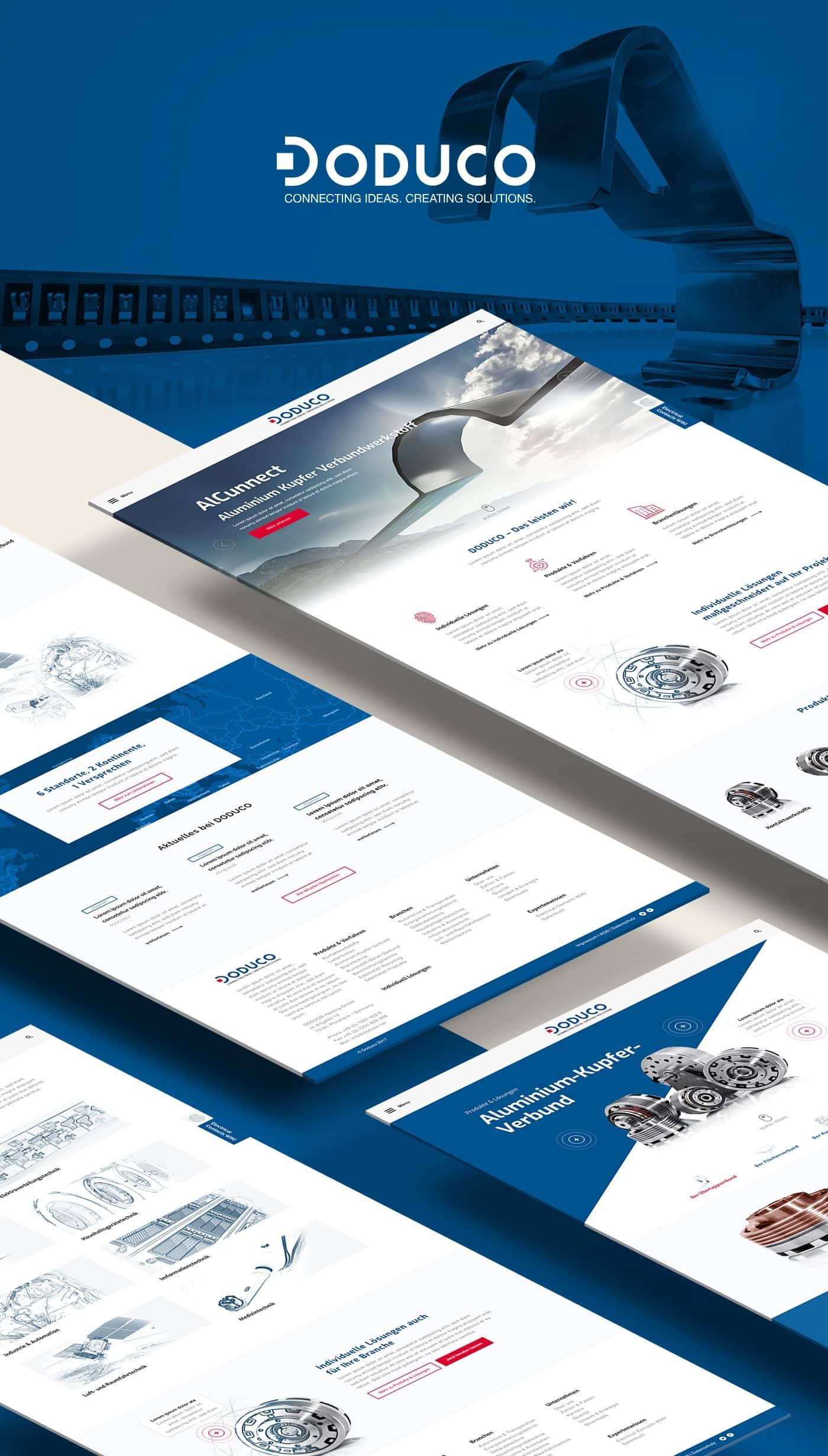 DODUCO GmbH Unternehmenswebseite