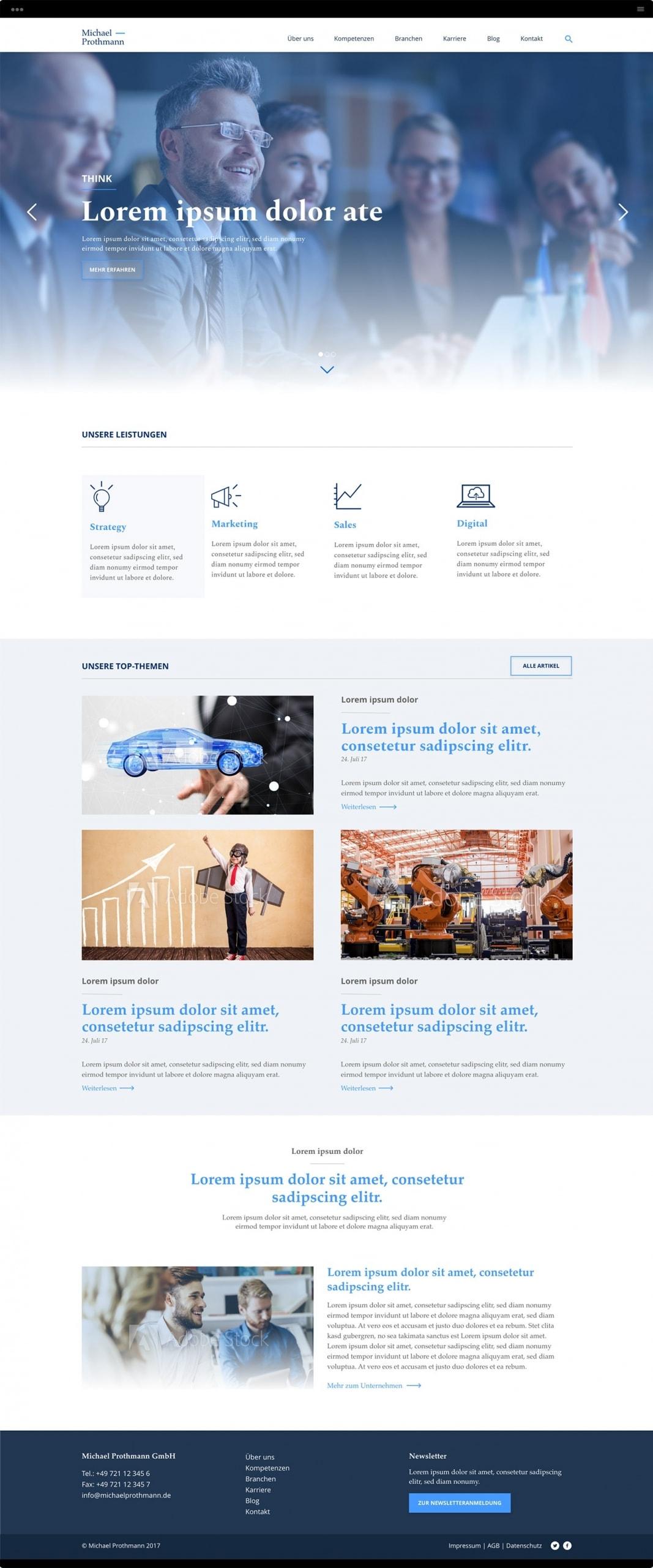 Browser Michael Prothmann Unternehmensberatung
