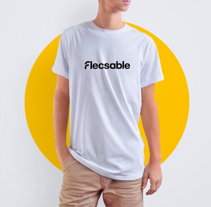 flecsable tshirt - Bärenstark - Digitale Lösungen