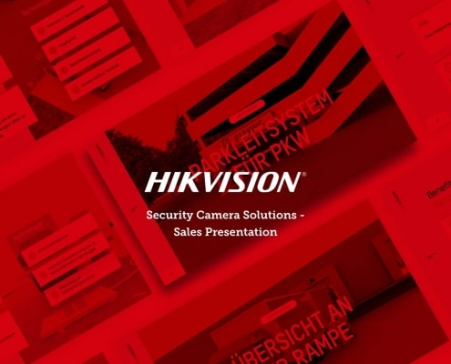 HIKVISION Security Camera Solutions in Logistics Sektor Powerpoint Sales Presentation